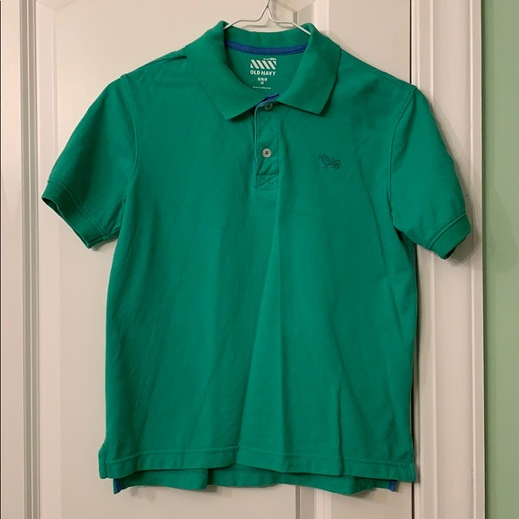 Collard polo shirt by Old Navy. Size 8.
